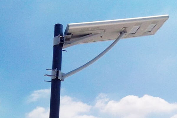 All In One Integrated Solar LED Street Light Projects